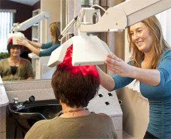 LLLT Laser Hair Loss Treatment Therapy Raleigh North Carolina